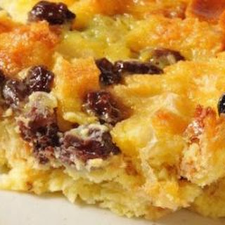 Marmalade Raisin Bread Pudding
