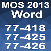 Word 2013 MOS Tutorial Videos