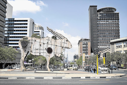 Braamfontein. File photo.