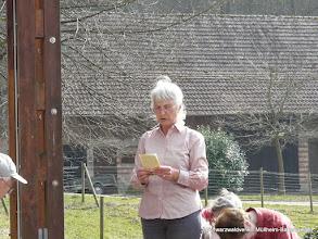 Photo: Gudrun in Aktion!
