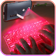 Hologram Keyboard 3D Simulated