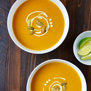 Thai Coconut Pumpkin Soup.