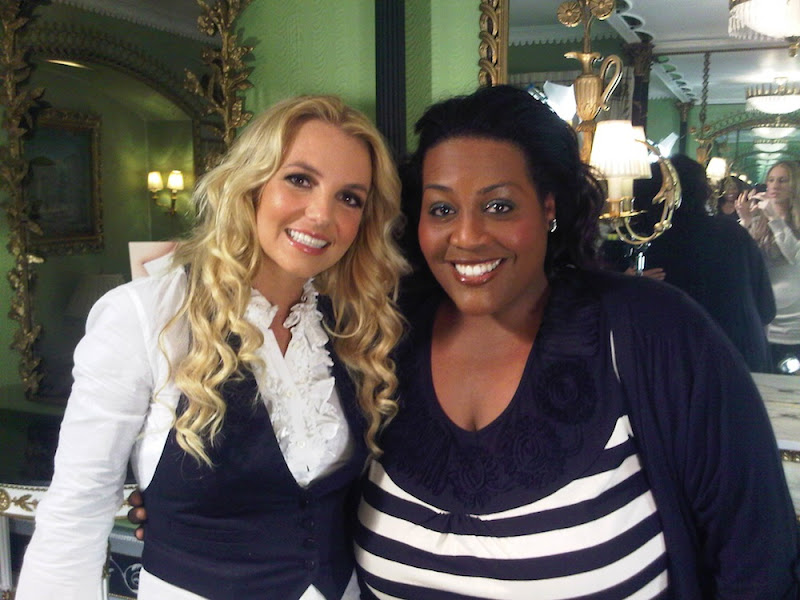 Photo: My new friend Alison from This Morning -Brit