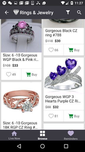 Ruby - Jewelry Shopping Deals Screenshot