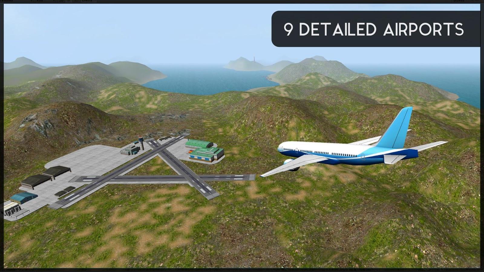 تحميل لعبة flight simulator 2015