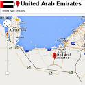 Dubai map icon