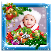 Shiny Christmas Photo Frames