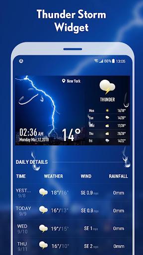 5-day Weather forecast &weather widget 10.3.5.2353 screenshots 4