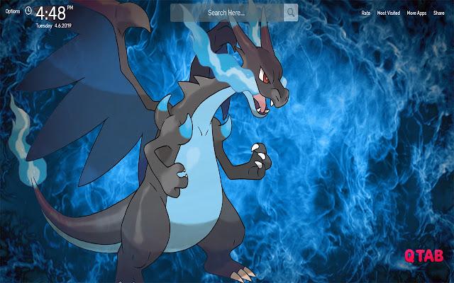 Pokemon Mega Charizard X Wallpapers