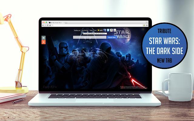 Star Wars Tribute: The Dark Side New Tab