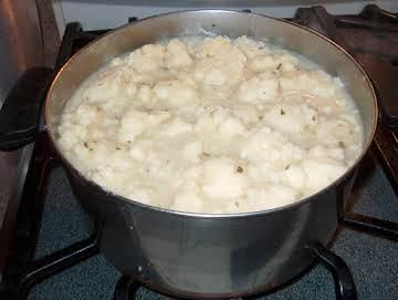 Grandma's Easy Hungarian Dumpling Soup
