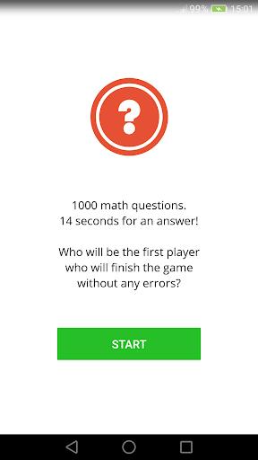 1000 math questions. Math multiplication games. cheat screenshots 1