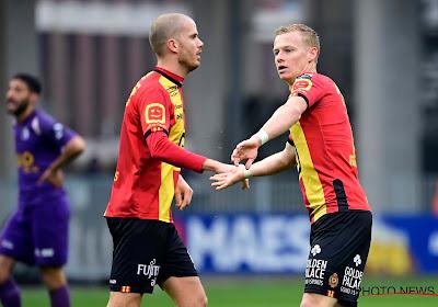 KV Mechelen zal zondag op bezoek bij Standard opnieuw niet kunnen rekenen op De Camargo en Defour