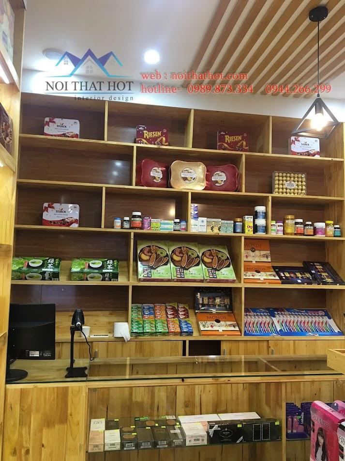 thi công cửa hàng bánh kẹo nhập khẩu 5