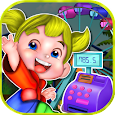 Kids Cashier Theme Park Fun icon