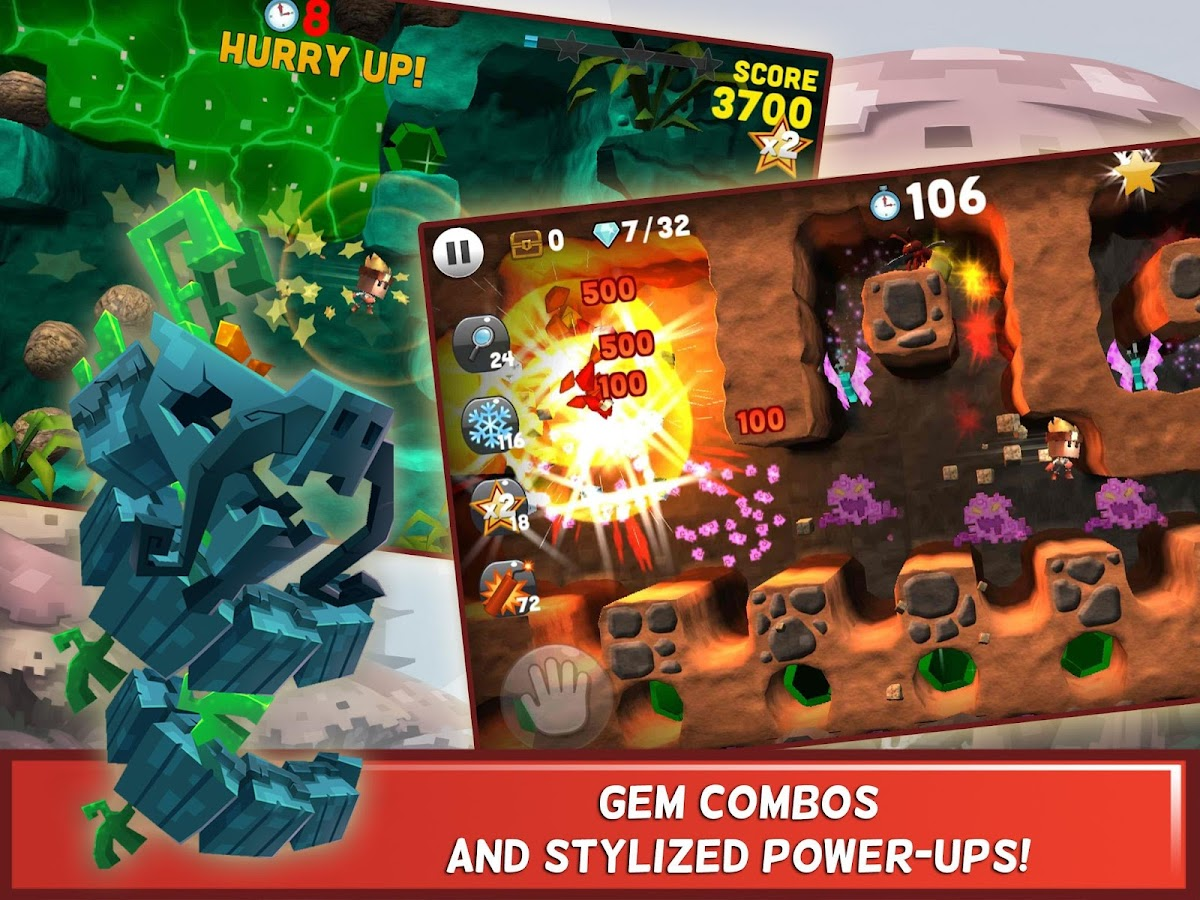 Boulder Dash®-30th Anniversary- screenshot