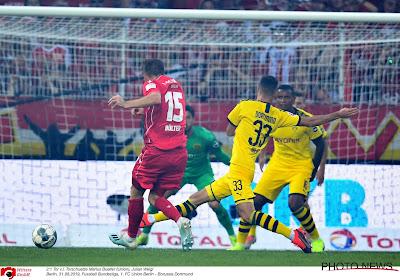 Belgenloos Borussia Dortmund verslikt zich bij promovendus