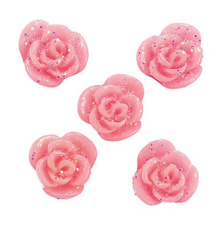 Nageldekorationer 3D Flowers