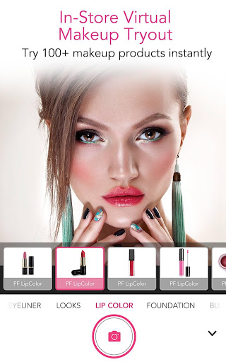 YouCam for Business u2013 In-store Magic Makeup Mirror 5.50.0 screenshots 1