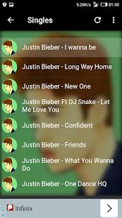 Justin Bieber App - náhled