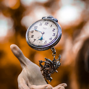 by Kyle Re - Artistic Objects Other Objects ( unique, colorful, high speed photography, macro photography, moment, perception, beauty, high speed, frozen, imagination, contrast, flying, throw, bold, macro, pocket watch, perspective, watches,  )