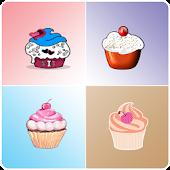 Cupcakes matching game