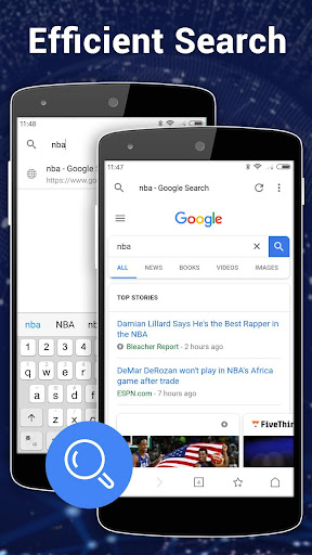 Browser for Android 1.3.3 screenshots 2