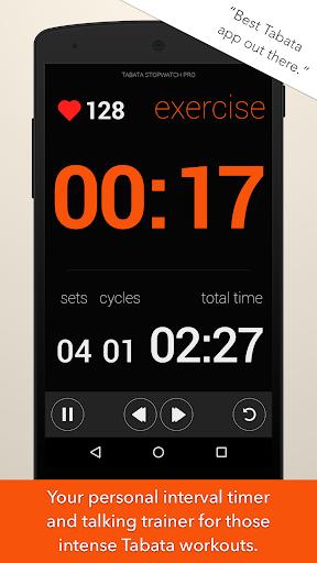Tabata Stopwatch Pro - Tabata Timer and HIIT Timer screenshot