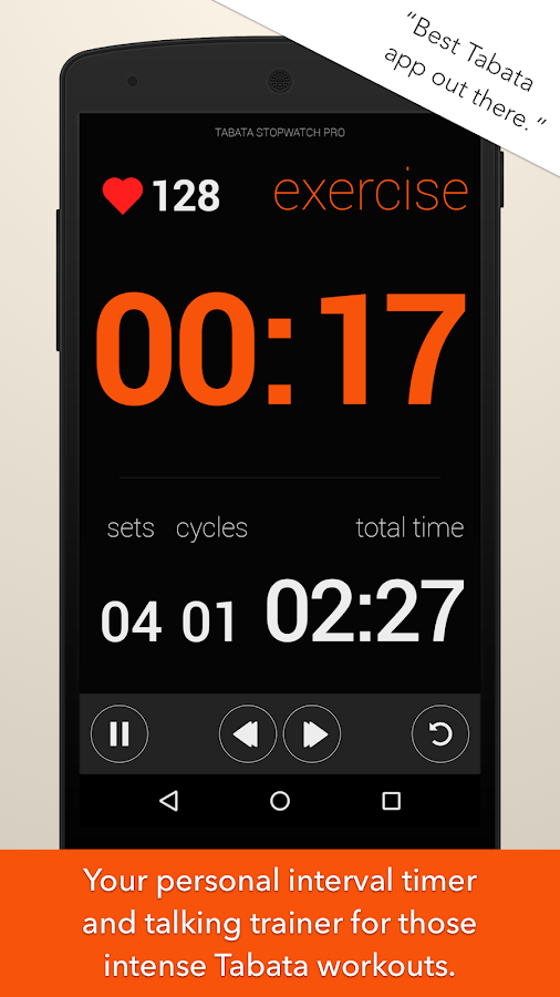 Tabata Timer and HIIT Timer- screenshot