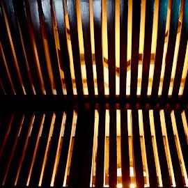 Backlit Street Bench by Nadeem M Siddiqui - City,  Street & Park  City Parks