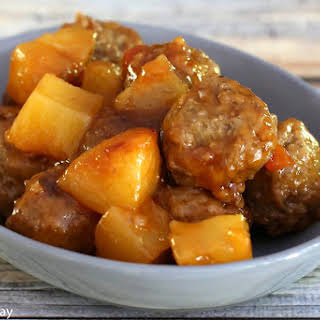 Crock Pot Sweet And Sour Meatballs With Pineapple Recipes.