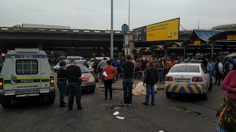 Shooting at Port Elizabeth Taxi Rank, in Russell Road