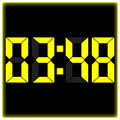 Digital Table Clock 2