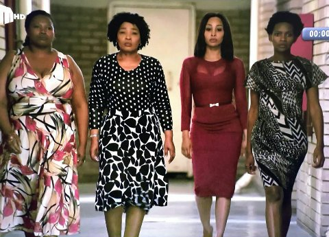 The four leading ladies of Abomama Bemthandazo are friendship goals.