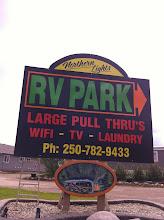 Photo: Northern Lights RV Park- Where the adventure begins!