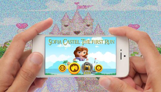 sofia castel the first run games - náhled