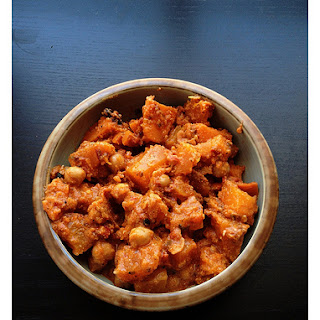 Squash, Sweet potato & Chickpea Stew