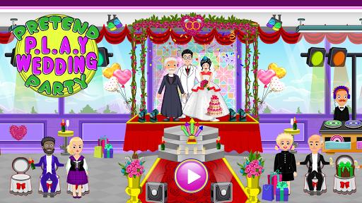 Pretend Town Wedding Party  screenshots 1