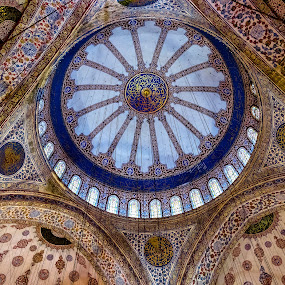 Blue Mosque, Istanbul by Linda Brown - Buildings & Architecture Places of Worship