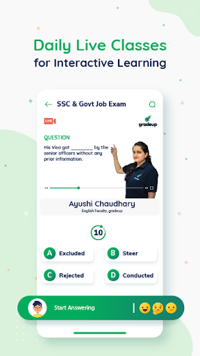 Exam Preparation App: Free Mock Test, Live Classes screenshot 2
