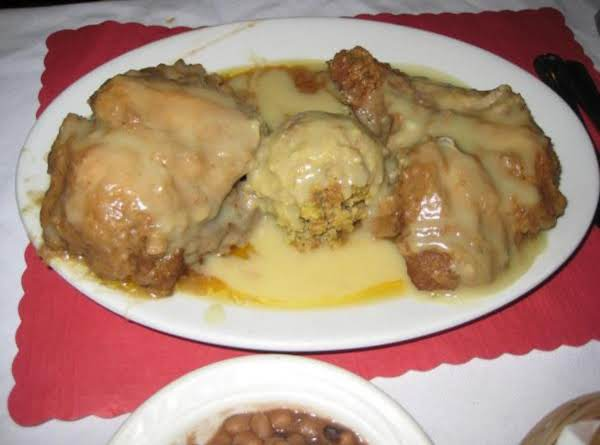 Fannie,s Smothered Chicken