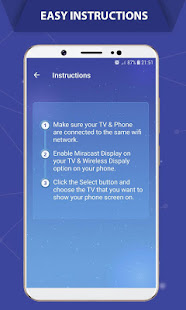 App Screen Mirroring - Mobile Connect To TV (Castto) APK for Windows Phone