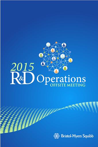 2015 BMS RDO Offsite Meeting