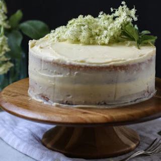 Elderflower and Lime Cake.
