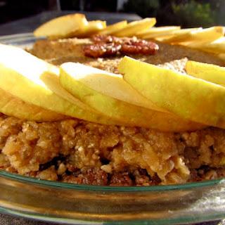 No Bake Apple Pecan Pie