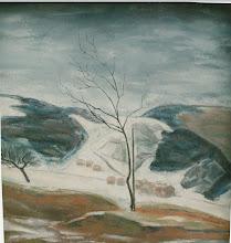 Photo: Winterlandschaft, Öl auf Leinwand, 1947