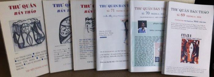 Toàn bộ tạp chí Thư Quán Bản Thảo từ trước đến nay được đưa lên online