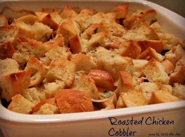 Roasted Chicken Cobbler Recipe