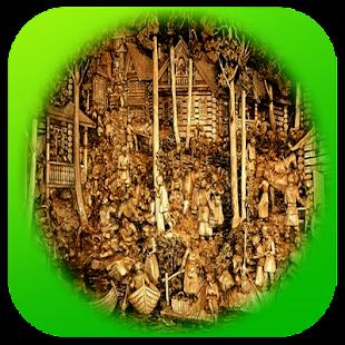 Myšlenky Carving starožitnosti - náhled