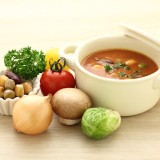 Soup Maker Homemade Minestrone Soup.